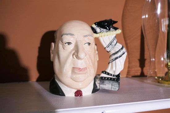 Rare Alfred Hitchcock Toby Mug Jug Large Size