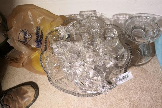Glass Punch Bowls & Cups - Heisey