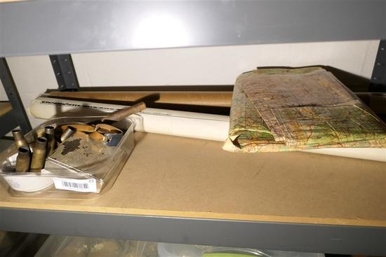 Group Lot Old Military items, field map etc