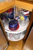 Contents of Lazy Susan in Kitchen