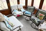 Group lot of Nicer Patio Furniture