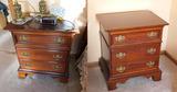 2 Nice Wooden Nightstands Lamp Tables Lexington