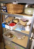 Contents of four shelves lot