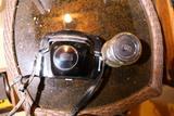 Rare Zeiss Ikon Contarex Camera Bullseye w/Lenses