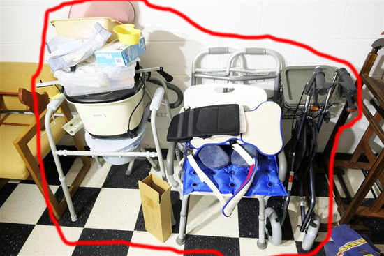 Group Lot of Handicapped Disabled Items