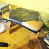 Vintage old Leather Camel Saddle