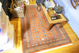 Nice Vintage Hand Made Rug or Carpet