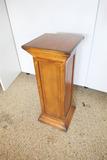 Antique Nicer Oak Wooden Pedestal Stand