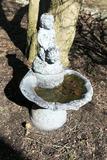 Cement Cherub Garden Fountain