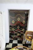 Vintage Beaded Doorway Curtain