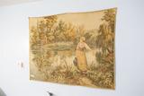 Large Vintage Decorative Tapestry