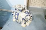 Vintage Decorative Ceramic Elephant