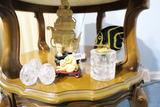 Vintage Lighter, Eggs, Faux Ivory Pieces etc