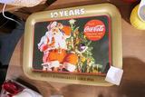 Vintage Big Bear 50 Years Coca Cola tray