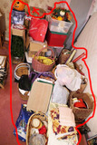 Giant Sized Christmas Lot Including Antique Items