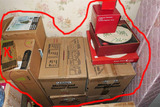 Collection of Christmas China Pieces in Boxes