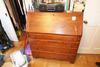 Antique Oak Drop Front Secretary Desk Amish Nice