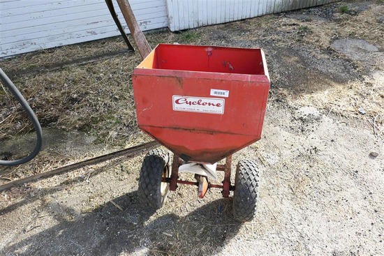 Vintage Cyclone Seed Spreader