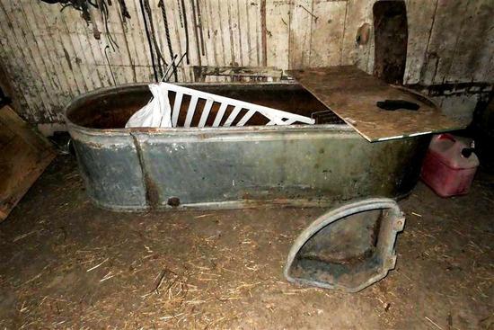 Large Metal Water Tank or Trough