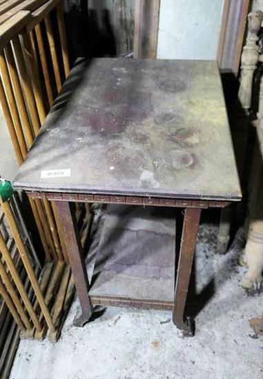 Antique Wooden Table c. 1890s