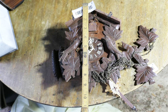 Vintage Black Forest Type Cuckoo Clock