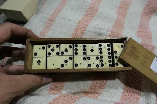 Set of Antique Dominos