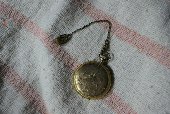Elgin Pocket Watch in Finer Gold Filled Case