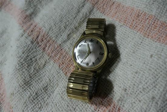 Vintage Gruen Precision Masonic Watch