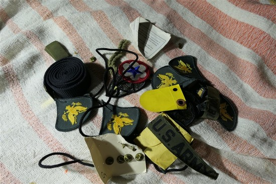 Lot of assorted military patches etc