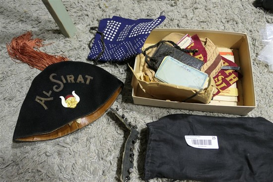 Early Lot Al Sirat Grotto Fraternal items