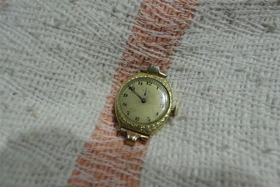 Antique 14k Gold Elgin Watch