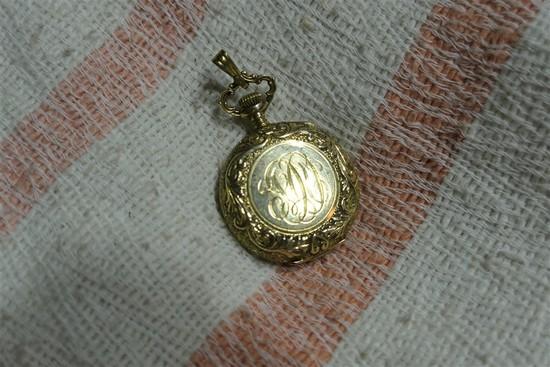 Antique 14k Gold Pocket Watch Nice
