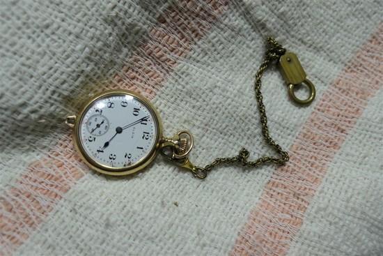 Antique Gold Filled Pocket Watch Elgin