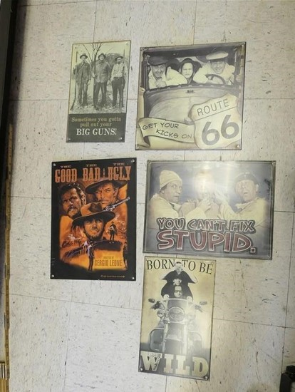 Lot of Signs Inc. 3 Stooges