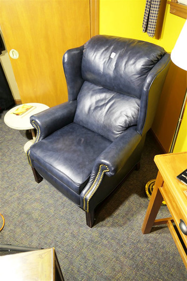 Nicer Chesterfield Type Leather Armchair