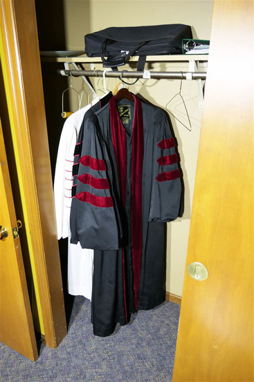 Group Vintage Religious or Academic Robes
