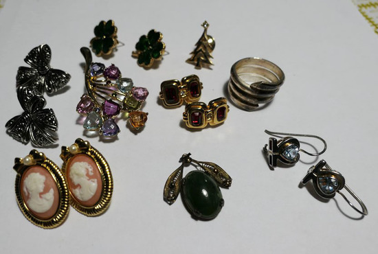 Group Lot Costume Jewelry