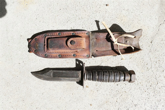 Nice WWII Era Fighting Knife Military