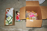 Lot of old barbies, toys etc