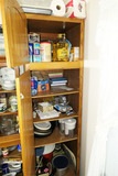 Contents of cupboard lot