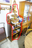 Contents of Cabinet + Items on top