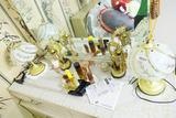 Asian Lamps, Perfume etc lot