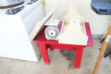Wash Board, scale, box, table