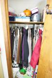 Contents of closet lot