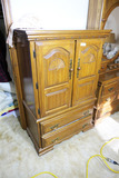 Vintage Small Wooden Armoire