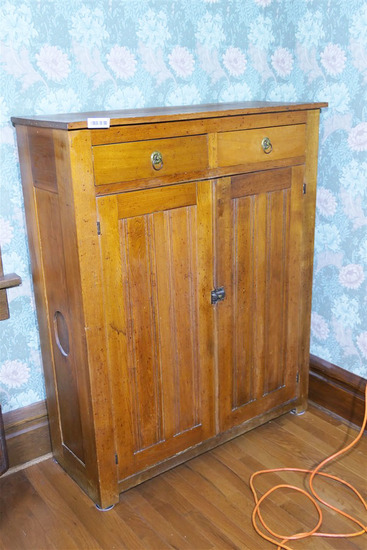 Nice 19th c Cupboard or Pie Safe