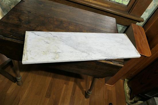 Old Marble Furniture Top Slab