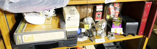 Shelf lot vintage electronics, tubes etc