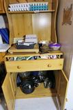Contents of Pine Kitchen Shelf Unit