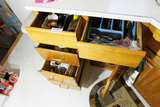 All items in lower drawers/cabinets lot